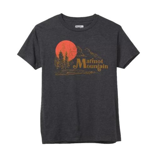 Marmot Men's Redpoint Short Sleeve Tee Shirt Charc_1204