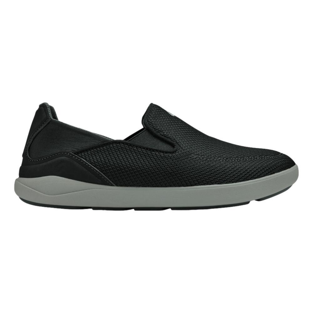 OluKai Men's Nohea Pae Slip-On Sneakers BLACK_4040