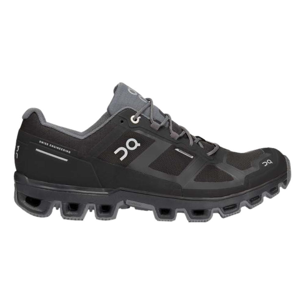 On Men's Cloudventure Waterproof Running Shoes BLACK