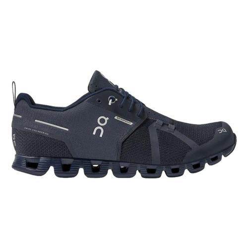 On Men's Cloud Waterproof Running Shoes Navy