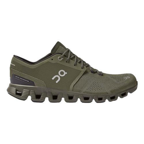 On Men's Cloud X Running Shoes Oliv.Fir