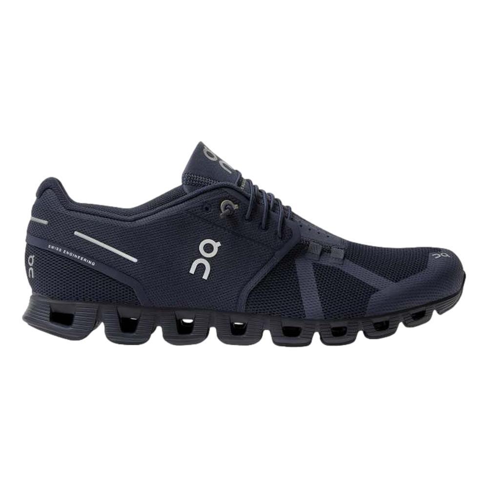 On Men's Cloud Monochrome Shoes MIDNT