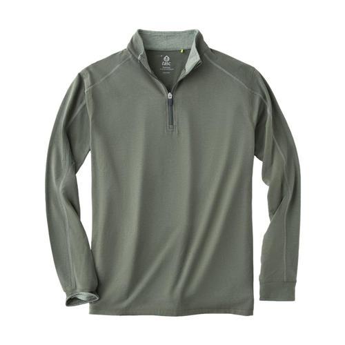 tasc Men's Carrollton 1/4 Zip Top Green_302