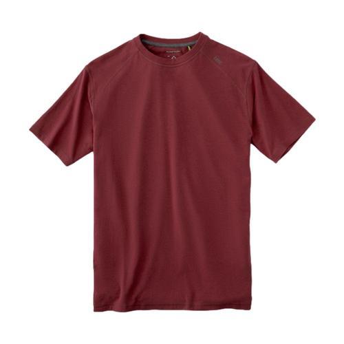 tasc Men's Carrollton Performance Crew T-Shirt Garnet_606