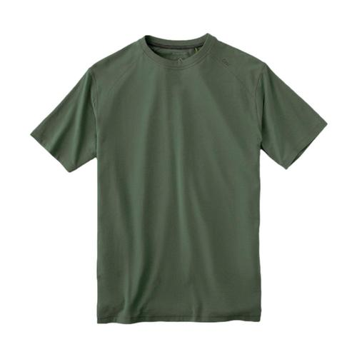 tasc Men's Carrollton Performance Crew T-Shirt Green_302