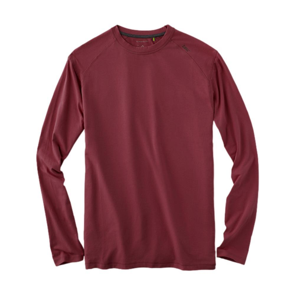 tasc Men's Carrollton Long Sleeve Shirt GARNET_606