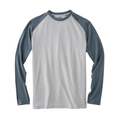 tasc Men's Carrollton Blocked Fitness Long Sleeve T-Shirt Gray_058
