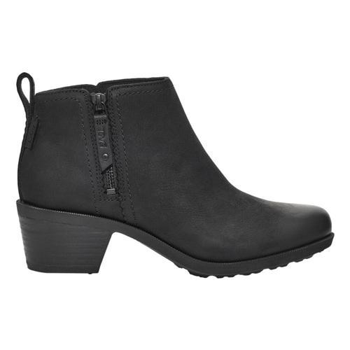 Teva Women's Anaya Bootie RR Ankle Boot Black_blk