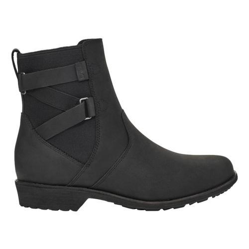 Teva Women's Ellery Ankle Waterproof Boot Black_blk