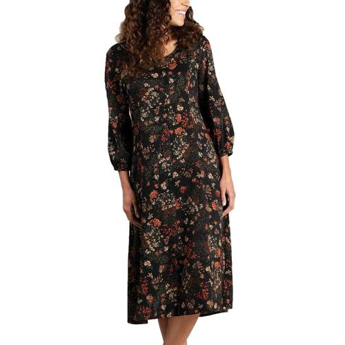 Toad & Co Women's Manzana Button Up Dress Blackf_009