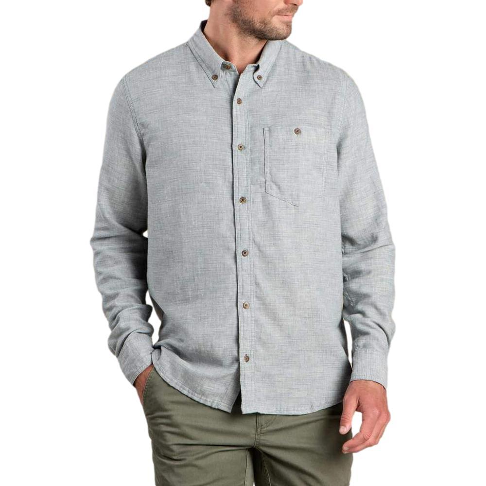 Toad&Co Men's Airsmyth Long Sleeve Shirt BLUE_906