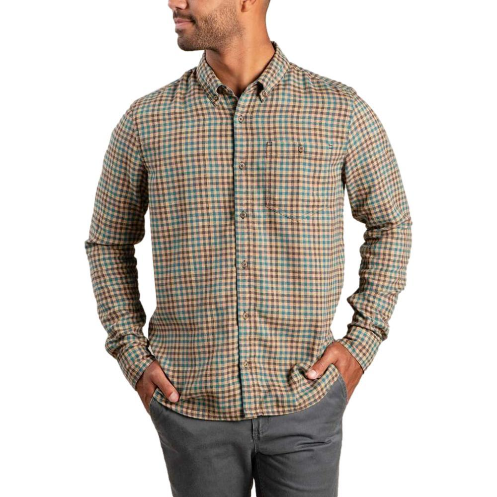 Toad&Co Men's Airsmyth Long Sleeve Shirt FOG_253