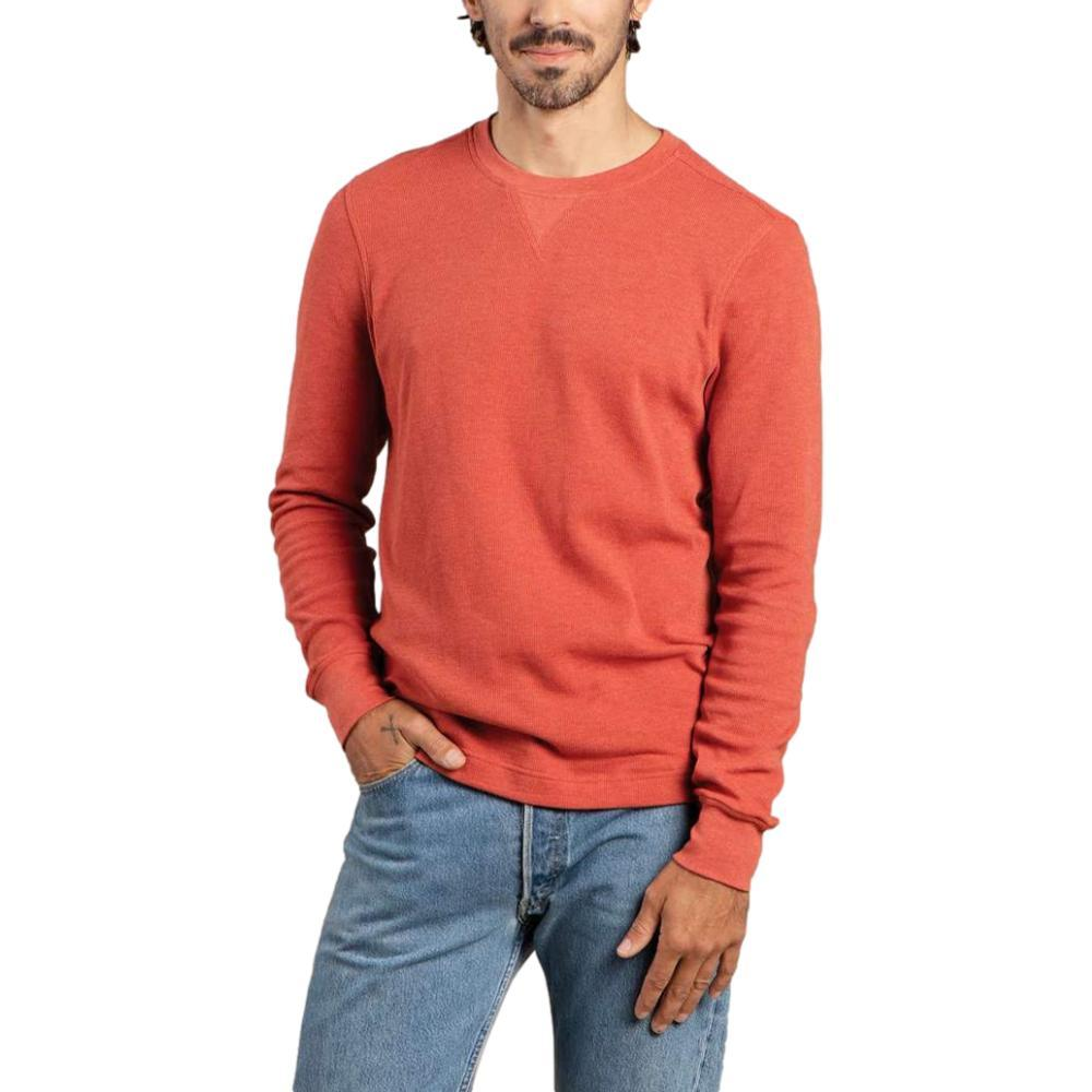 Toad&Co Men's Framer Dos Long Sleeve Crew CHILI_630