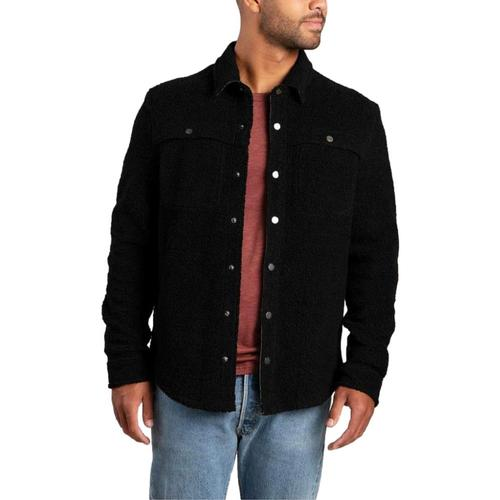 Toad and Co Men's Telluride Sherpa Shirt Jacket Black_100