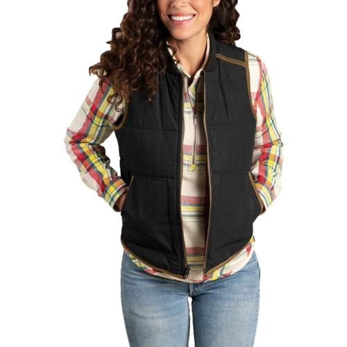 Toad & Co Women's McWay Vest Black_100