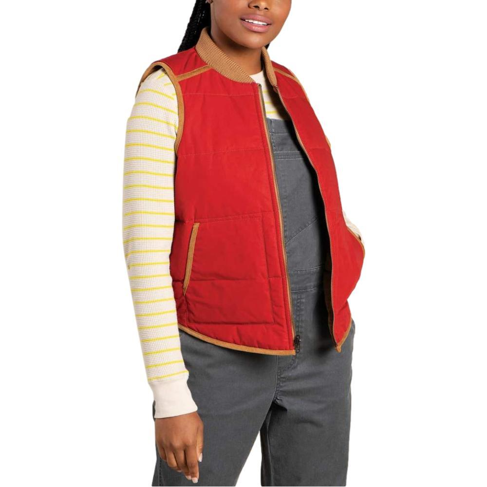 Toad & Co Women's McWay Vest CHILI_630