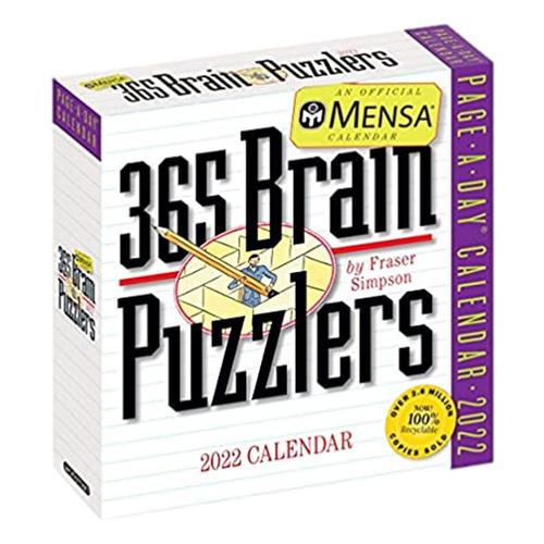 Mensa 365 Brain Puzzlers Page-A-Day Calendar 2022 2022