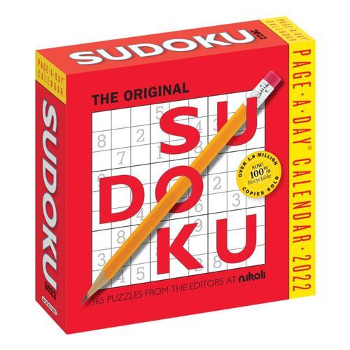 Original Sudoku Page-A-Day Calendar 2022 2022
