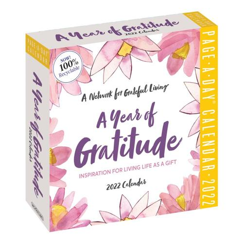 A Year of Gratitude Page-A-Day Calendar 2022 2022