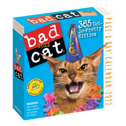 Bad Cat Page-a-Day Calendar 2022 2022
