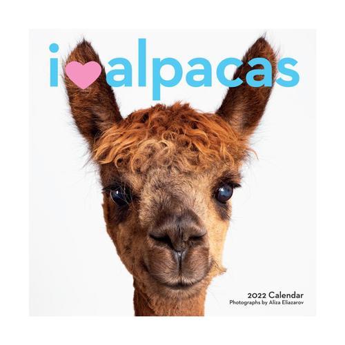 I Heart Alpacas Wall Calendar 2022 2022