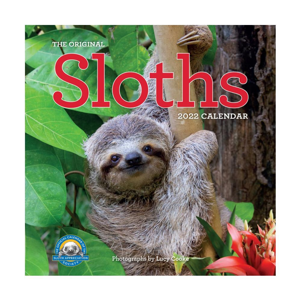 Original Sloths Wall Calendar 2022 2022