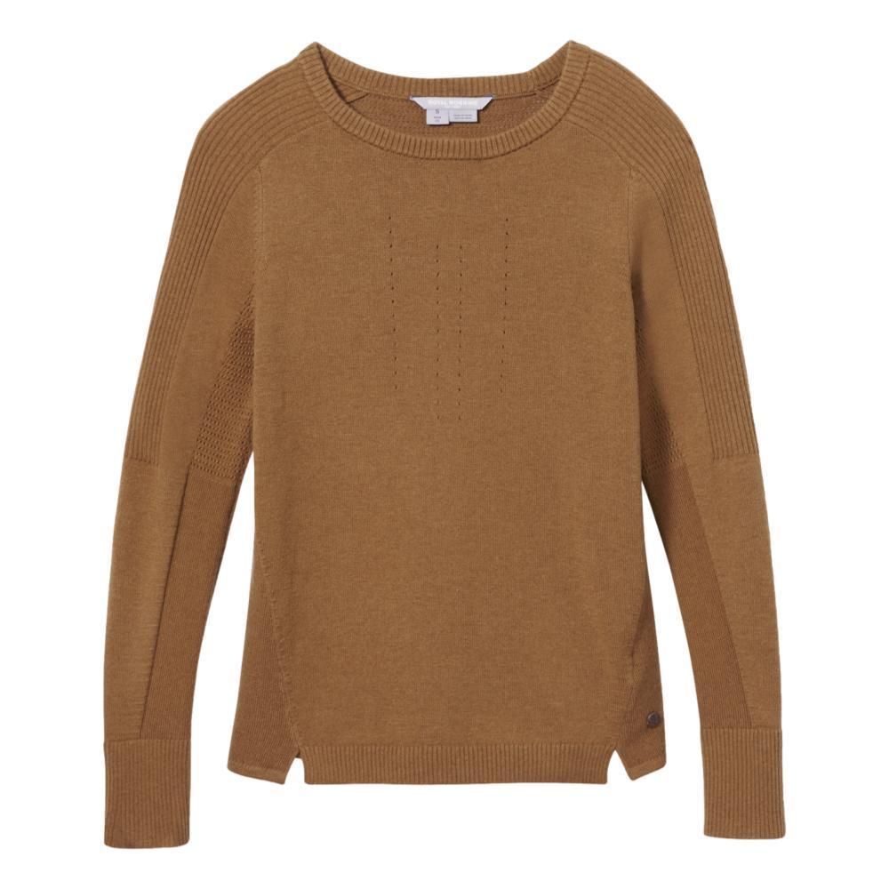 Royal Robbins Women's Ventour Sweater WALNUT_122