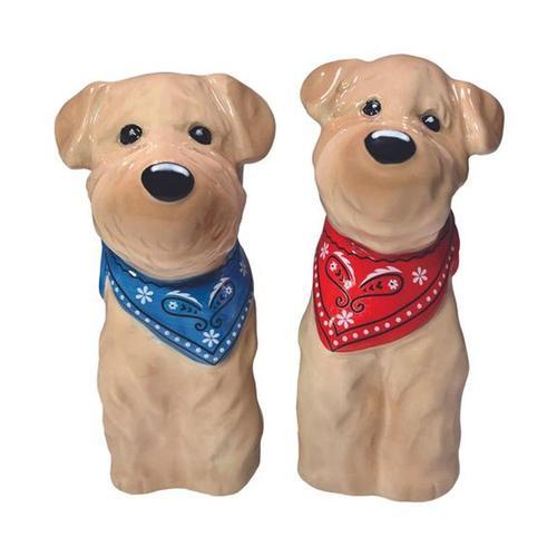 Streamline Inc. Kennel Club Salt & Pepper Collection - Wheaten Terrier Shaker Set