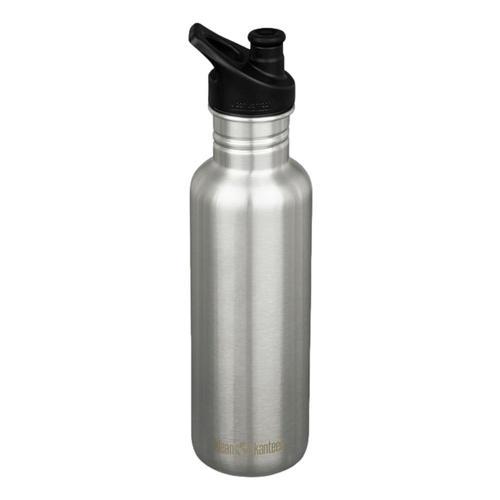 Klean Kanteen Classic Bottle w/Sport Cap 3.0 - 27oz Brshd.Stnlss