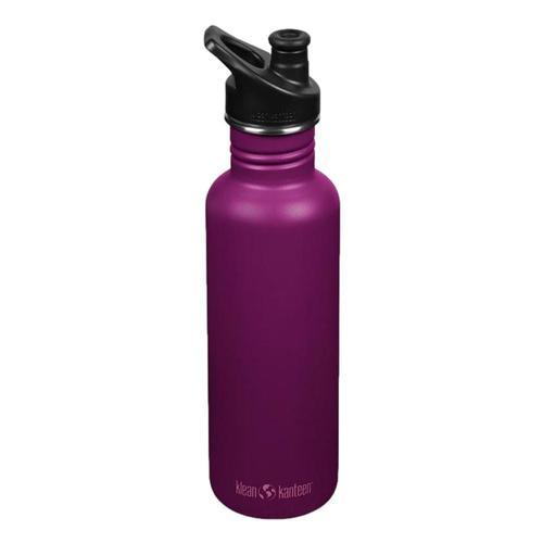 Klean Kanteen Classic Bottle w/Sport Cap 3.0 - 27oz Purple_potion
