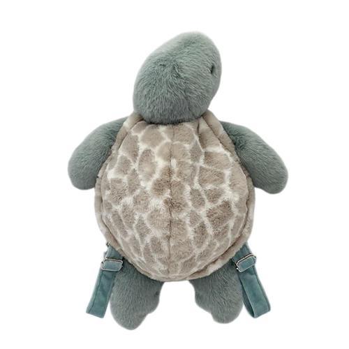 Mon Ami Taylor Turtle Plush Backpack