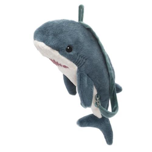 Mon Ami Seaborn Shark Plush Backpack