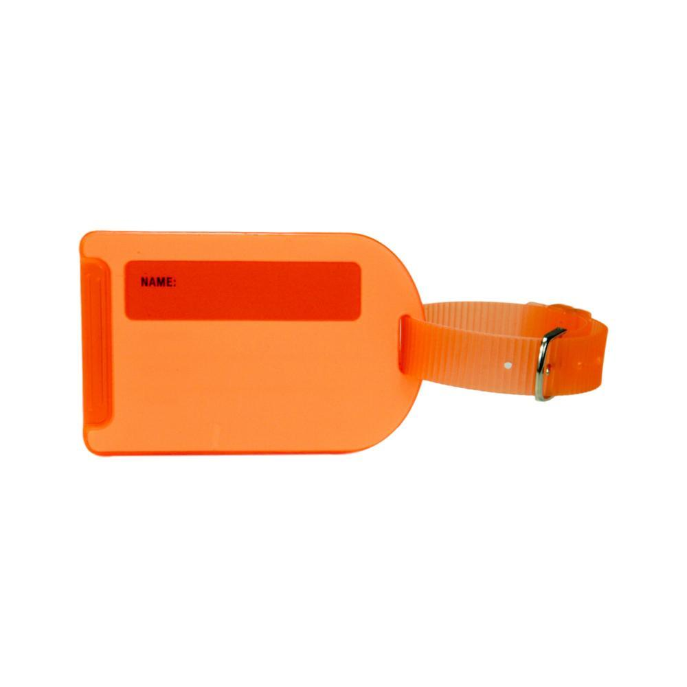 Voltage Valet Neon Luggage Tag - Orange ORANGE
