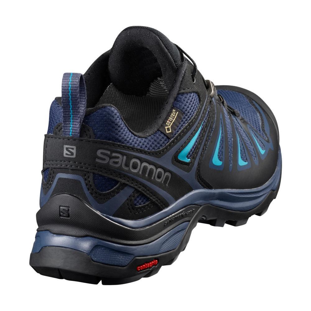 salomon x ultra 3 gtx womens waterproof shoes - black iron